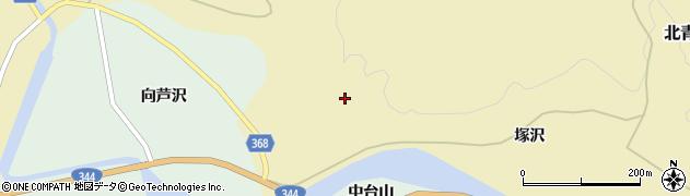 山形県酒田市北青沢(早坂)周辺の地図
