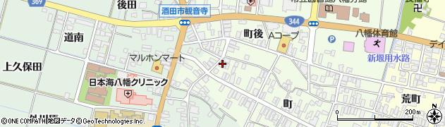 山形県酒田市観音寺町95周辺の地図