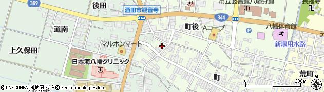 山形県酒田市観音寺町100周辺の地図