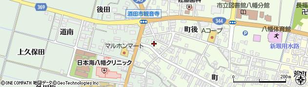 山形県酒田市観音寺町99周辺の地図
