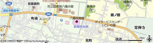 山形県酒田市観音寺町後15周辺の地図