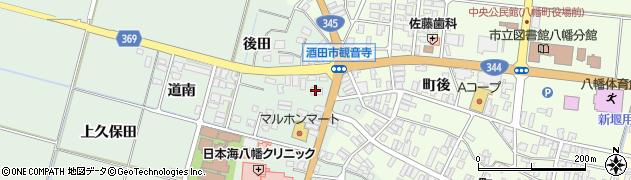 山形県酒田市小泉前田11周辺の地図