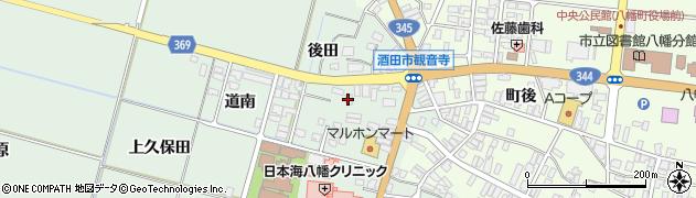 山形県酒田市小泉前田17周辺の地図