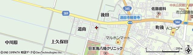 山形県酒田市小泉道南1周辺の地図