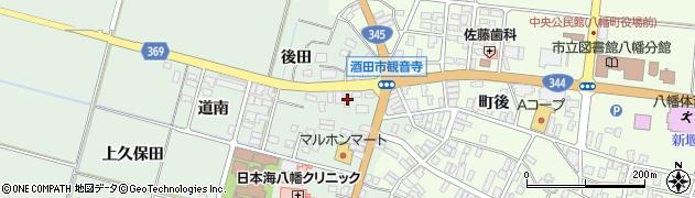 山形県酒田市小泉前田12周辺の地図