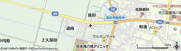 山形県酒田市小泉前田9周辺の地図