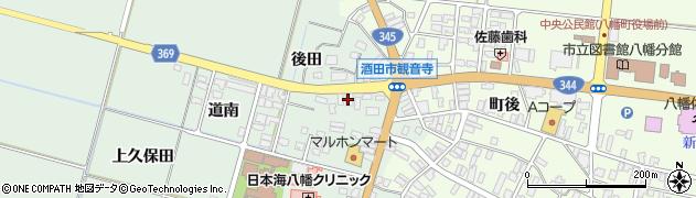 山形県酒田市小泉前田13周辺の地図