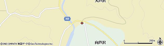 山形県酒田市北青沢大芦沢120周辺の地図