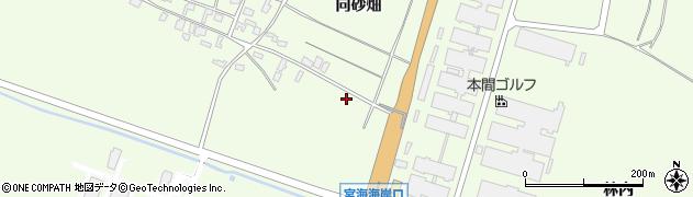 山形県酒田市宮海中砂畑67周辺の地図