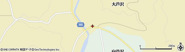 山形県酒田市北青沢大芦沢39周辺の地図
