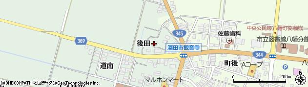 山形県酒田市小泉後田16周辺の地図