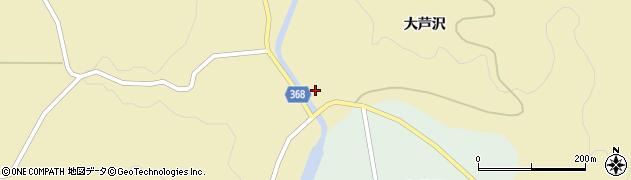 山形県酒田市北青沢大芦沢25周辺の地図