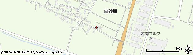 山形県酒田市宮海向砂畑55周辺の地図