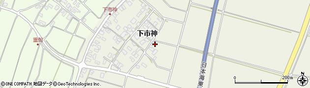 山形県酒田市穂積下市神47周辺の地図