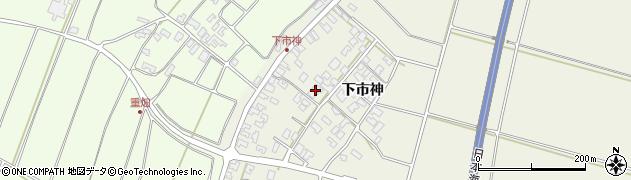 山形県酒田市穂積下市神97周辺の地図