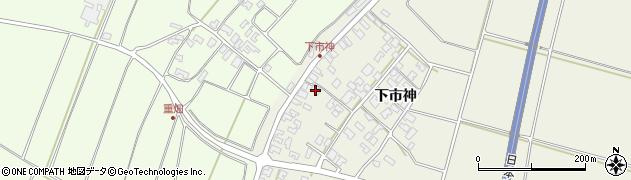 山形県酒田市穂積下市神99周辺の地図