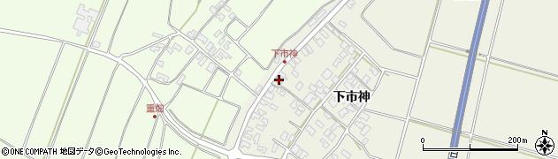 山形県酒田市穂積下市神141周辺の地図