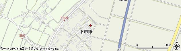 山形県酒田市穂積下市神62周辺の地図
