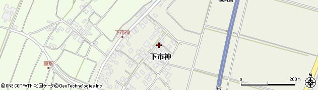 山形県酒田市穂積下市神67周辺の地図