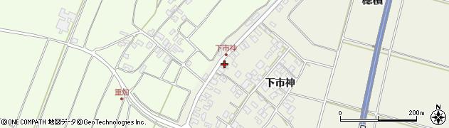 山形県酒田市穂積下市神140周辺の地図