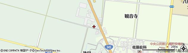 山形県酒田市北仁田五百地周辺の地図