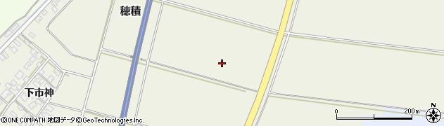 山形県酒田市穂積古分周辺の地図