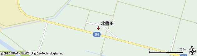 山形県酒田市小泉北豊田周辺の地図