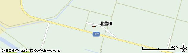山形県酒田市小泉北豊田27周辺の地図
