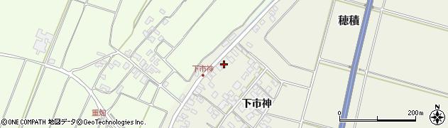 山形県酒田市穂積下市神125周辺の地図