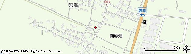山形県酒田市宮海向砂畑15周辺の地図