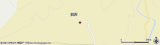 山形県酒田市北青沢貝沢84周辺の地図