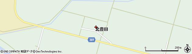 山形県酒田市小泉北豊田20周辺の地図