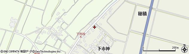山形県酒田市穂積下市神118周辺の地図