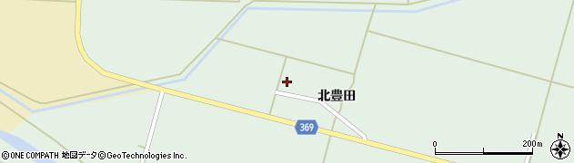 山形県酒田市小泉北豊田23周辺の地図