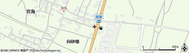 山形県酒田市宮海向砂畑121周辺の地図