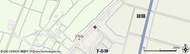 山形県酒田市穂積下市神112周辺の地図