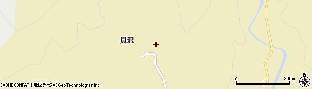 山形県酒田市北青沢貝沢73周辺の地図