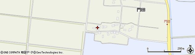 山形県酒田市穂積門田157周辺の地図