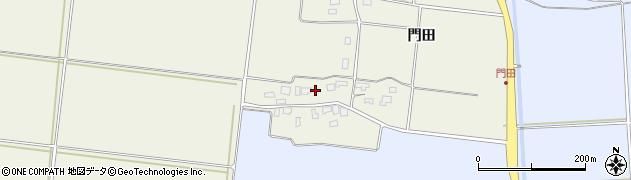 山形県酒田市穂積門田152周辺の地図
