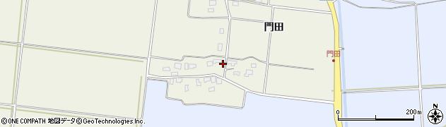 山形県酒田市穂積門田147周辺の地図