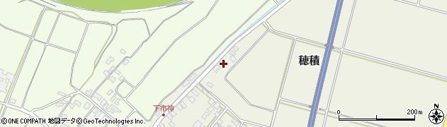 山形県酒田市穂積上市神165周辺の地図
