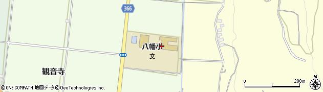 山形県酒田市観音寺古楯周辺の地図