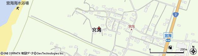 山形県酒田市宮海砂飛68周辺の地図
