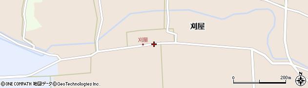 山形県酒田市刈屋中川6周辺の地図