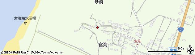 山形県酒田市宮海砂飛139周辺の地図