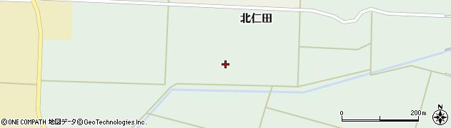 山形県酒田市北仁田家西周辺の地図