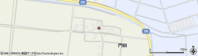 山形県酒田市穂積門田126周辺の地図