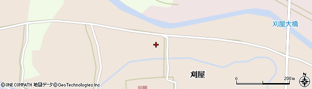 山形県酒田市刈屋京寺周辺の地図