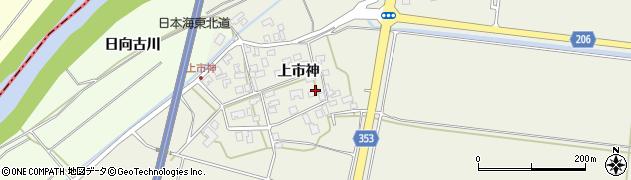 山形県酒田市穂積上市神79周辺の地図