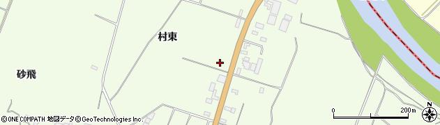 山形県酒田市宮海村東137周辺の地図
